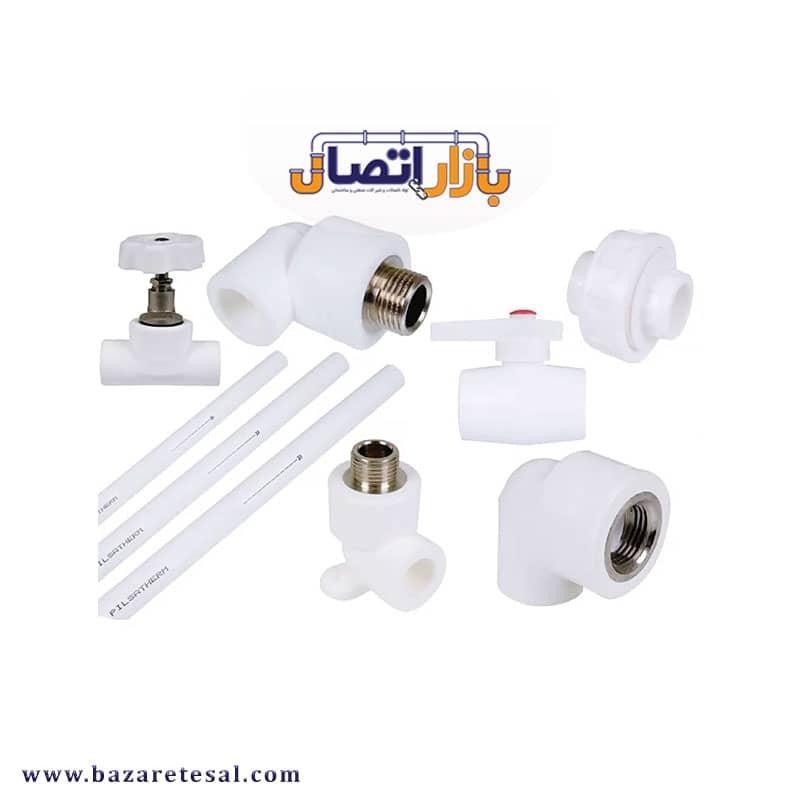 قیمت لوله و اتصالات سفید تک لایه آذین لوله, بازار اتصال