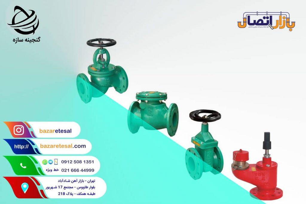 شیرآلات چدنی وگ ایران بی همتا , بازار اتصال