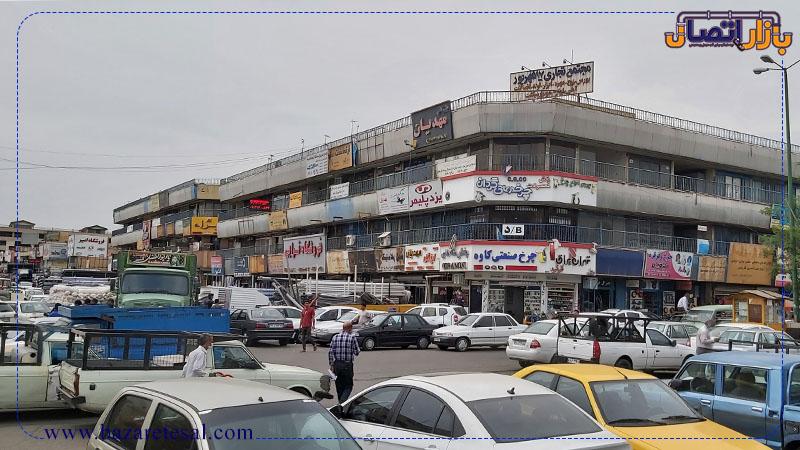 بازار آهن شادآباد تهران